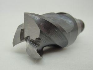 ヘッド交換式エンドミルの再研磨