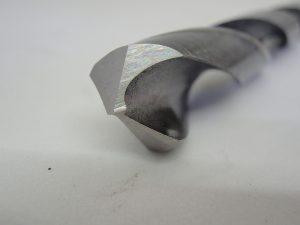 先端10mmハイス鋼ツイストドリルの再研磨